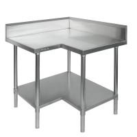 Budget Stainless Steel Corner Bench - 700mm