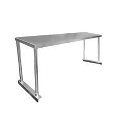 Economy Single Tier Stainless Bench Overshelf - 1200mm