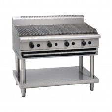Waldorf CH8120G-LS 1200mm Gas Chargrill On Leg Stand