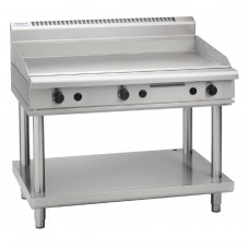 Waldorf GP8120G-LS 1200mm Gas High Performance Griddle On Leg Stand
