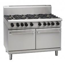 1200mm Gas Static Double Oven Range w/8X Burners