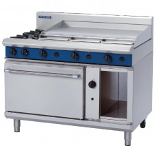 Blue Seal G508A 1200mm Static Oven Range 2X Burners and 900mm Griddle