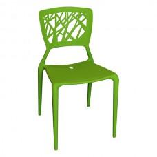 F.E.D. 125-APP-R 125-App Charisma Outdoor Polypropylene Cafe Chair (Red)