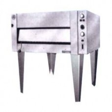 Goldstein E201 1290mm Single Deck Pizza and Bake Oven - Lift Up SS Door
