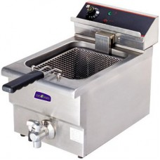 Electmax by FED BEF-171V 15 Amp Single Benchtop Electric Fryer - 10L