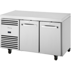 TRUE TCF1/2-CL-SS-DL-DR 2 Door Freezer Counter with SS Top