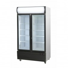 Thermaster by FED LG-1000GEF 2 Door Upright Combination Fridge / Freezer