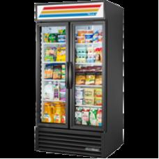 TRUE GDM-35-HC~TSL01 2 Glass Door Refregerated Merchandiser with Hydrocarbon Refrigerant - 900L