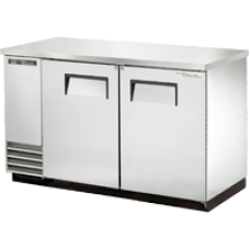 TRUE TBB-2-S 2 Solid Door Stainless Back Bar Refrigerator