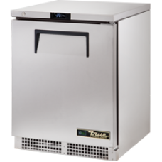 TRUE TUC-24F-HC 24, 1 Solid Door Undercounter Freezer with Hydrocarbon Refrigerant