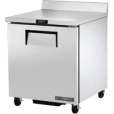 TRUE TWT-27F-HC 27, 1 Door Stainless Work Top Freezer with Hydrocarbon Refrigerant