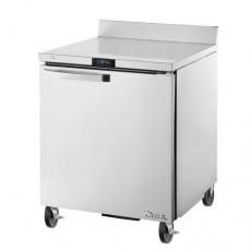 TRUE TWT-27F-HC~SPEC1 27, 1 Door Stainless Work Top Freezer with Hydrocarbon Refrigerant SPEC1 Series