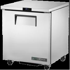 TRUE TUC-27F-HC 27, 1 Solid Door Undercounter Freezer with Hydrocarbon Refrigerant