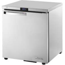 TRUE TUC-27F-HC~SPEC1 27, 1 Solid Door Undercounter Freezer with Hydrocarbon Refrigerant SPEC1 Series