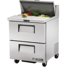 TRUE TSSU-27-08D-2 27, 2 Drawer Sandwich/Salad Prep Table