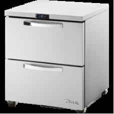 TRUE TUC-27D-2-HC~SPEC1 27, 2 Drawered Undercounter Refrigerator with Hydrocarbon Refrigerant SPEC1 Series
