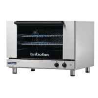 2x 660x460 Capacity Manual Electric Convection Oven (Direct)