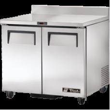TRUE TWT-36 36, 2 Door Stainless Work Top Refrigerator