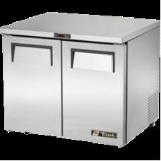 TRUE TUC-36-LP 36, 2 Solid Door Low Profile Refrigerator