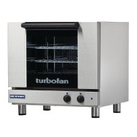 3x 2/3Gn Capacity Manual Electric Convection Oven (Direct)