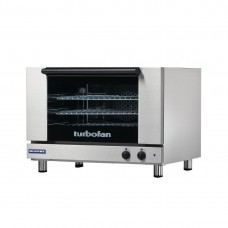 Turbofan E27M3 3X Full Size Tray Manual Electric Convection Oven