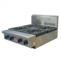 4 Burner Cooking Top (Bench/Stand Mounted)