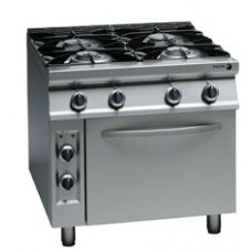 4 Burner Electric Range with Gas Oven