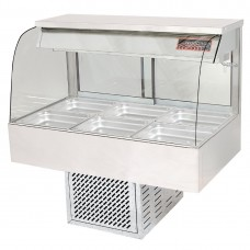 Woodson W.CFC24 4 Module Curved Cold Food Display (Direct)