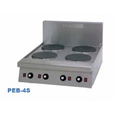 Goldstein PEB4S 4 Solid Plate Cooking Top