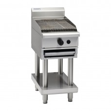 Waldorf CH8450G-LS 450mm Gas Chargrill On Leg Stand