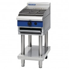 Blue Seal G593-LS 450mm Gas Chargrill On Leg Stand (Direct)