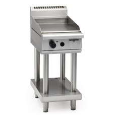 Waldorf GP8450G-LS 450mm Gas High Performance Griddle On Leg Stand