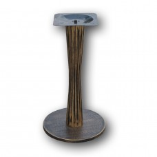 450mm2 Round Antique Gold Chassis Table Base