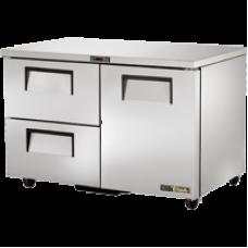 TRUE TUC-48D-2-HC 48, 1 Door 2 Drawer Undercounter Refregerator with Hydrocarbon Refrigerant