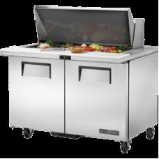 TRUE TSSU-48-18M-B-HC 48, 2 Door Sandwich/Salad Mega Top Prep Table with Hydrocarbon Refrigerant