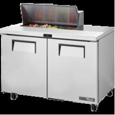 TRUE TSSU-48-08-HC 48, 2 Door Sandwich/Salad Prep Table with Hydrocarbon Refrigerant & 8x1/6 GN Pans