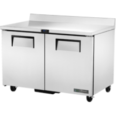 TRUE TWT-48F-HC 48, 2 Door Stainless Work Top Freezer with Hydrocarbon Refrigerant
