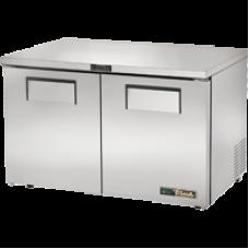 TRUE TUC-48-LP-HC 48, 2 Solid Door Low Profile Refrigerator with Hydrocarbon Refrigerant
