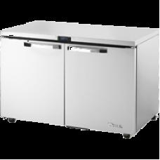 TRUE TUC-48F-HC~SPEC1 48, 2 Solid Door Undercounter Freezer SPEC1 Series with Hydrocarbon Refrigerant