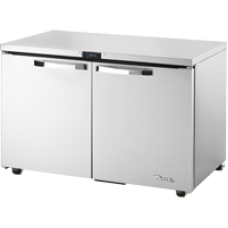 TRUE TUC-48-HC~SPEC1 48, 2 Solid Door Undercounter Refrigerator SPEC1 Series with Hydrocarbon Refrigerant