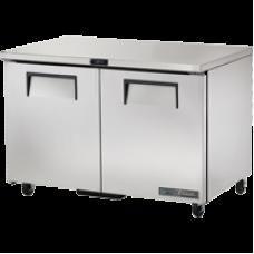 TRUE TUC-48-HC 48, 2 Solid Door Undercounter Refrigerator with Hydrocarbon Refrigerant