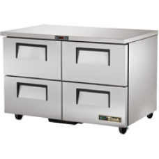 TRUE TUC-48D-4-HC 48, 4 Drawer Undercounter Refregerator with Hydrocarbon Refrigerant
