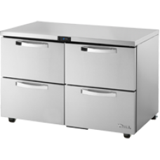 TRUE TUC-48D-4-HC~SPEC1 48, 4 Drawer Undercounter Refregerator with Hydrocarbon Refrigerant SPEC1 Series