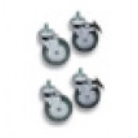 Set of four (4) castors (700+900 Series)