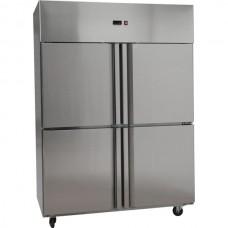 4x1/2 door SS Freezer