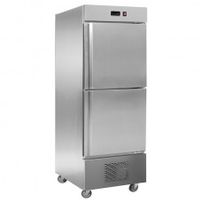 F.E.D. LD500SC2B -5 to +5°C TROPICALISED 2x1/2 door SS Fridge BOTTOM UN