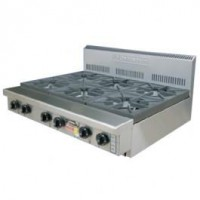 6 Burner Cooking Top (Bench/Stand Mounted)