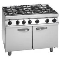 6 Burner Gas Range with UK Style Oven
