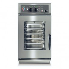 6 x 1/1GN Slim Line Electric Combi Oven with Electronic Controls