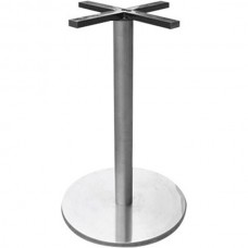 620 Round Stainless Steel Bench Base